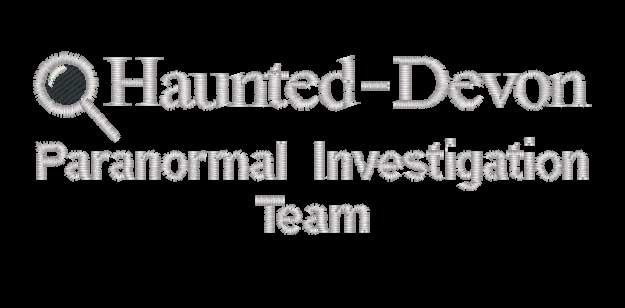 Haunted Devon Embroidered logo