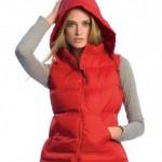 BA670 lady fit hooded body warmer