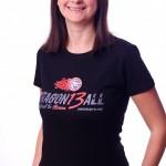 Dragonball black t shirt