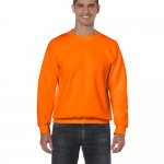 Safety orange sweatshirt