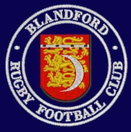 BRFC logo navy background