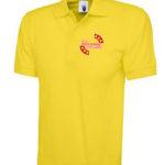 Yellow polo